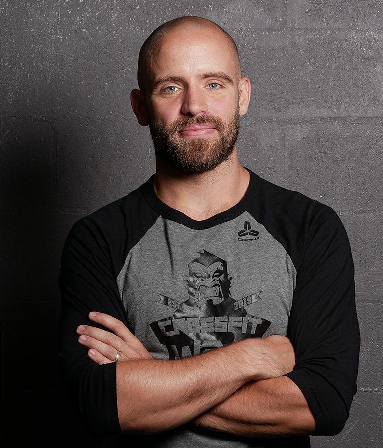 Coach Maxime à la box de CrossFit W2S Crossfit